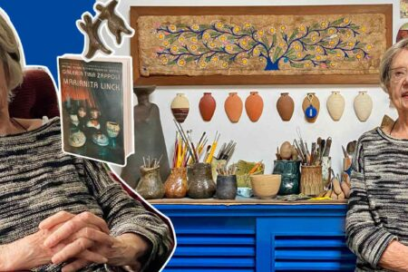 A ceramista Marianita Link